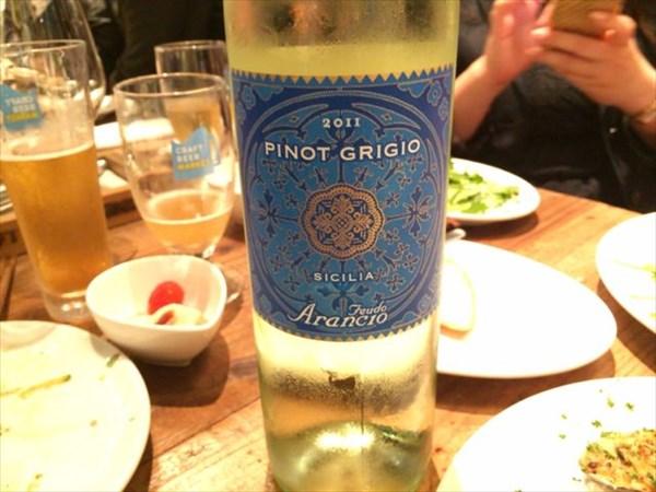 白ワイン(ピノ・グリ)
