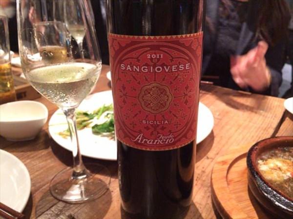 赤ワイン(サンジョヴェーゼ)