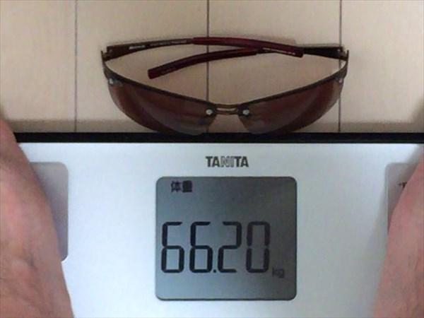 7日目の体重66.2キロ