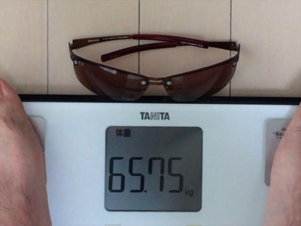 10日目の体重65.75キロ