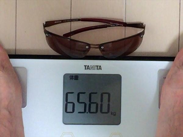 12日目の体重65.6キロ