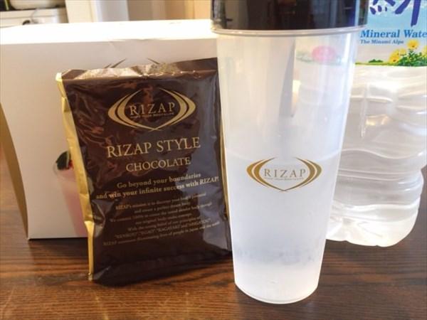 12日目のライザップスタイルドリンク(チョコレート味)