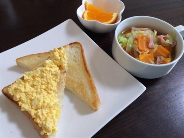 13日目の朝食