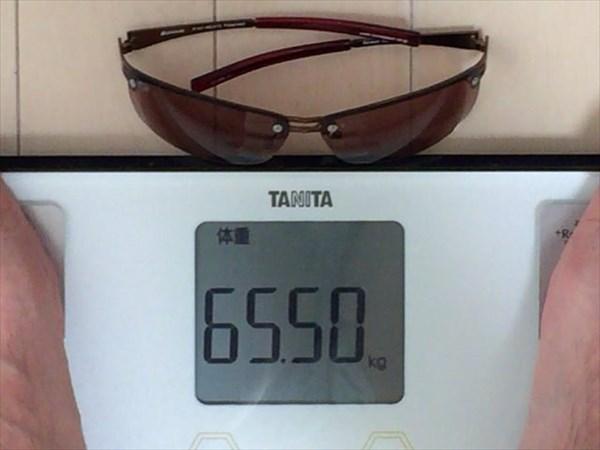 13日目の体重65.5キロ