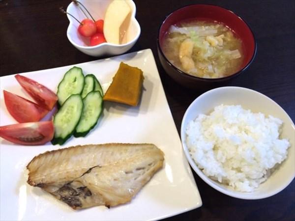 15日目の朝食