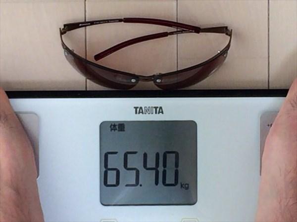17日目の体重65.4キロ