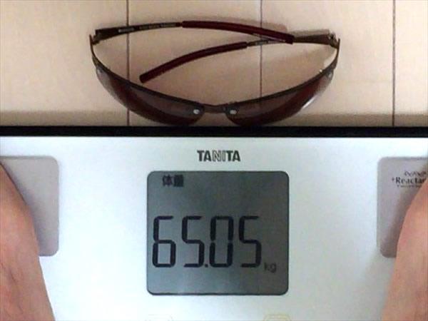 18日目の体重65.05キロ