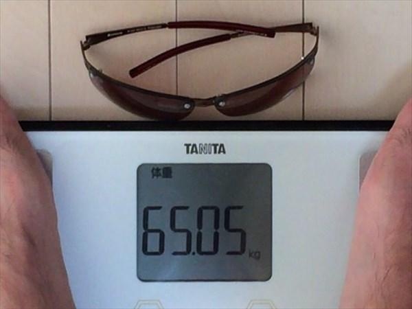 24日目の体重65.05キロ