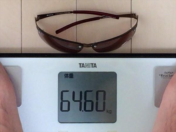 25日目の体重64.6キロ