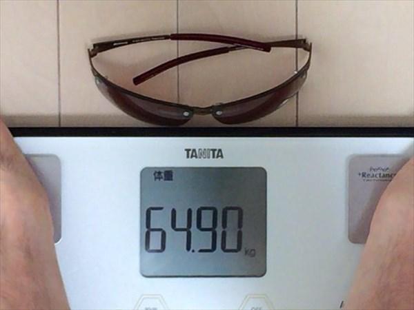 29日目の体重64.9キロ