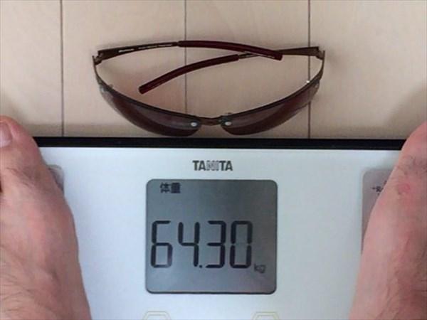 30日目の体重64.3キロ