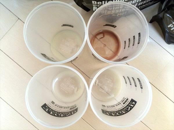 ビーレジェンドプロテインは溶けやすい!