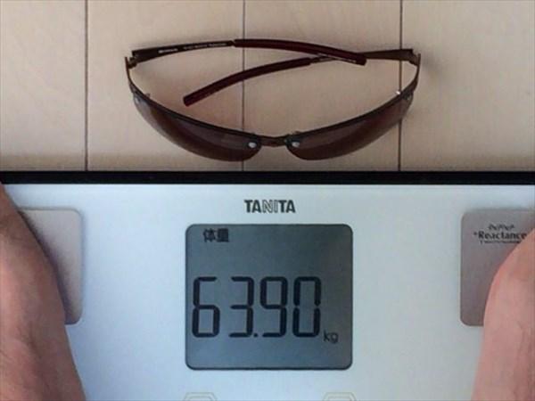 最終日の体重63.9キロ