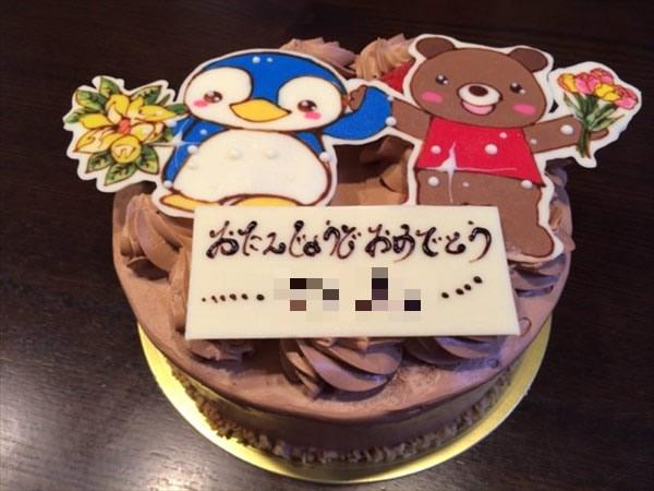 娘の5歳の誕生日ケーキ