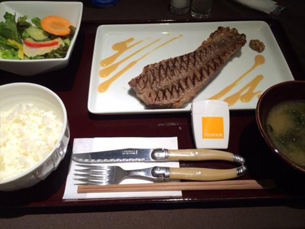初の熟成ステーキとメタバリア