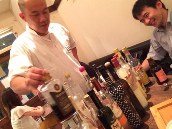 食後酒と店長とワイン友達