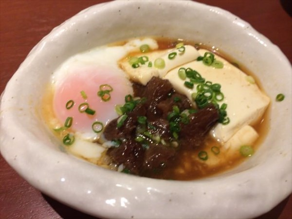 牛すじ豆腐