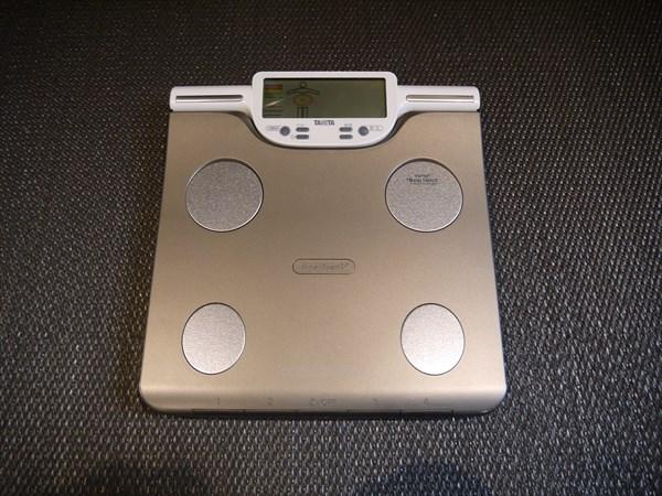 セッションルームに設置された体重計