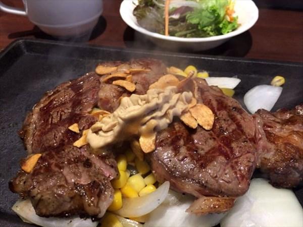 いきなりステーキのリブロースステーキ300g
