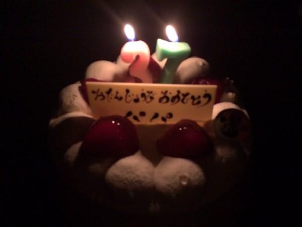 37歳の誕生日ケーキ