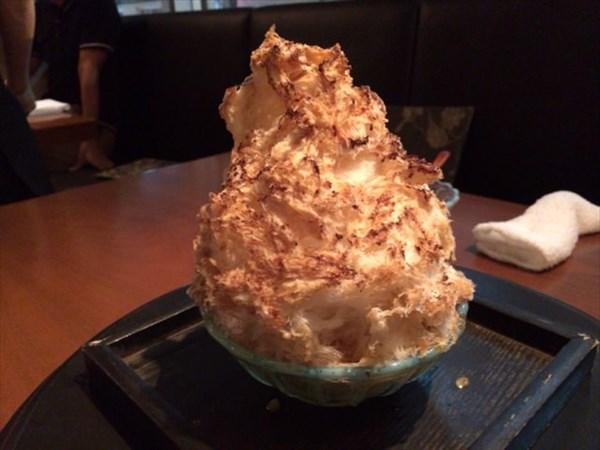 かき氷(コーヒーミルク)