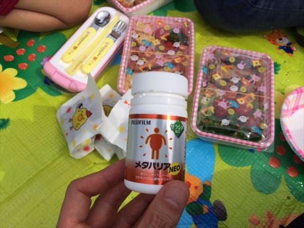 幼稚園の運動会でのお弁当