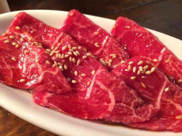 「とうがらし」という名前の赤身肉