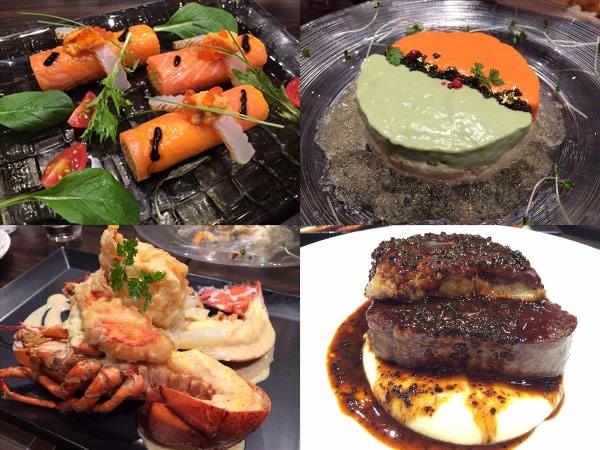 俺のフレンチTOKYOで食べた料理