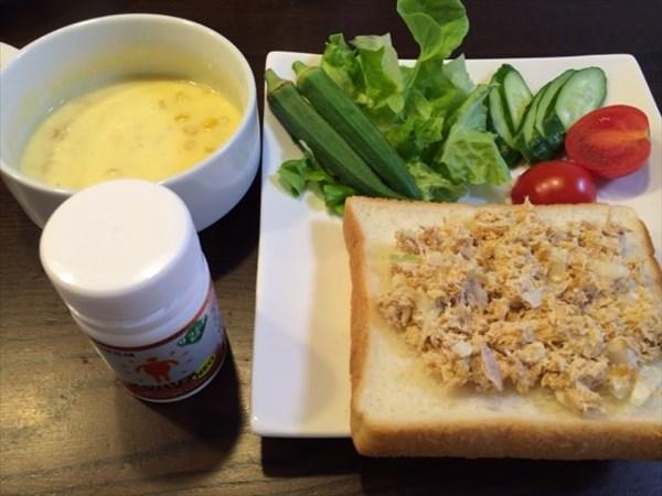 食パンとコーンポタージュとメタバリア