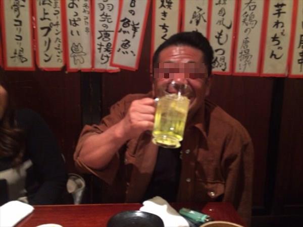 満面の笑みのショーさん(モザイクver.)