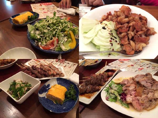 東京オフ会で食べた鳥料理