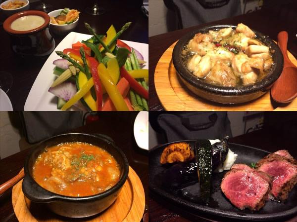 ゴーバルで食べたその他の料理