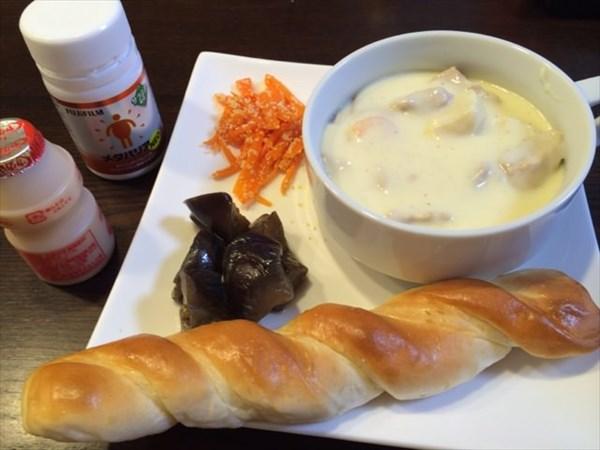 バタースティックとスープとメタバリア