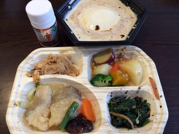 12/23のセブンミール弁当と麻婆豆腐鍋