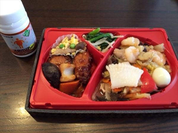 八宝菜弁当とメタバリア