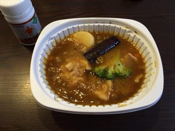 冷凍のスープカレーとメタバリア