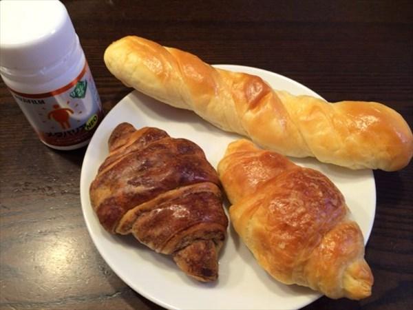 12月31日の朝食とメタバリアネオ