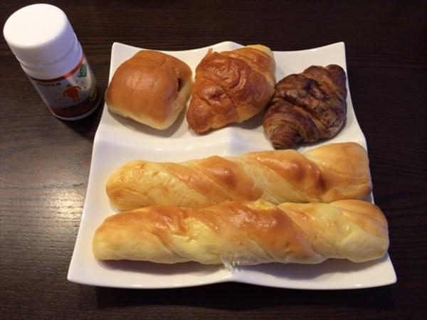 1月2日の朝食とメタバリアネオ