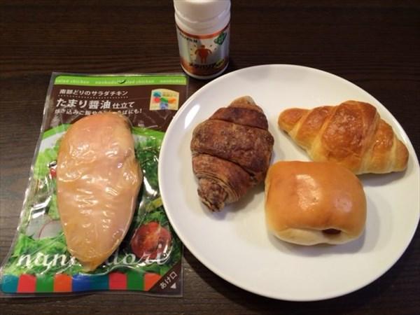 1月3日の朝食とメタバリアネオ