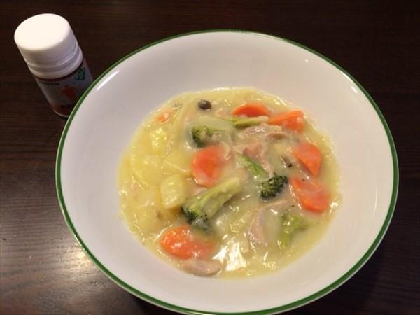 1月3日の夕食とメタバリアネオ