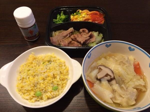 1月4日の夕食とメタバリアネオ