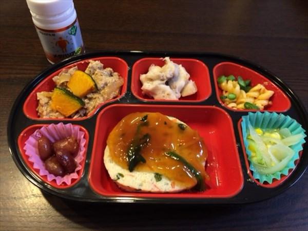 生協の豆腐ハンバーグ弁当とメタバリア