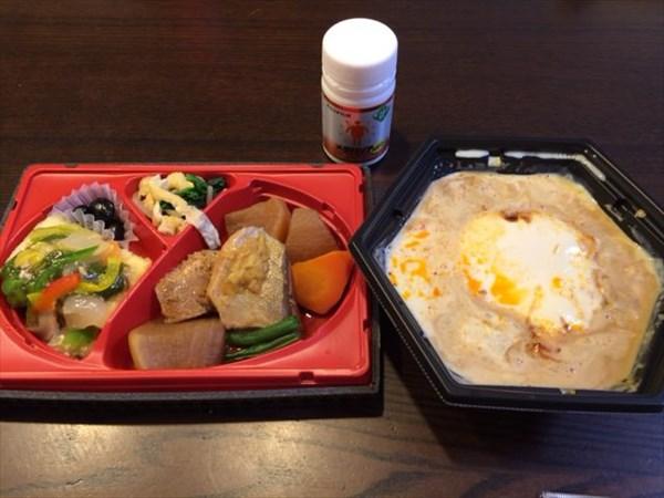 セブンの和風弁当とマーボー豆腐