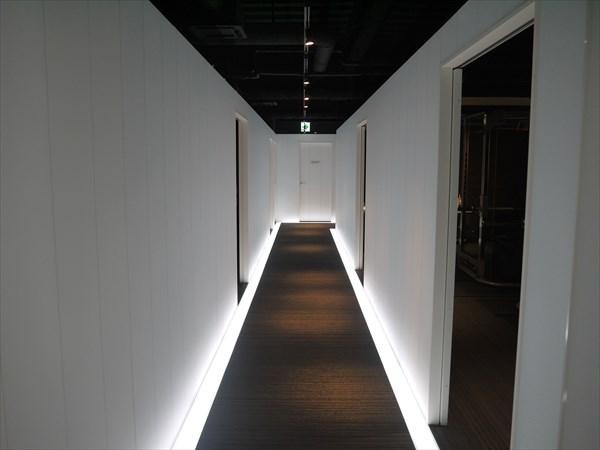 宇都宮店内の廊下の様子