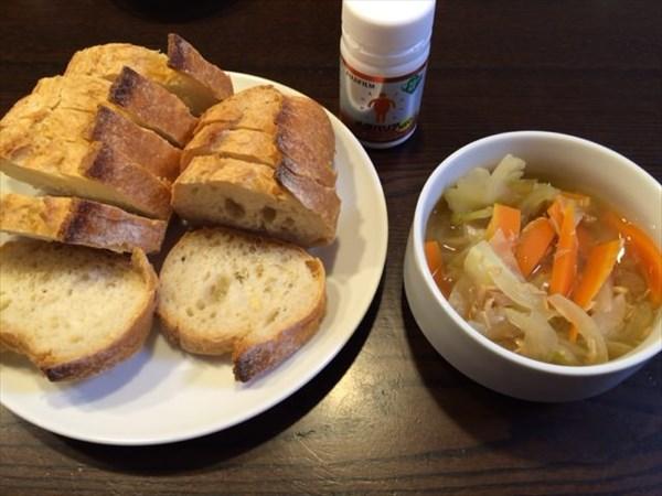フランスパンとワンタンスープとメタバリア