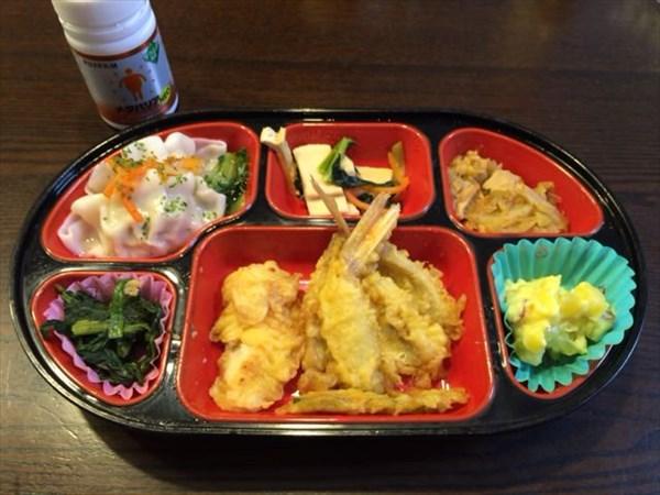 生協の天ぷら弁当とメタバリア