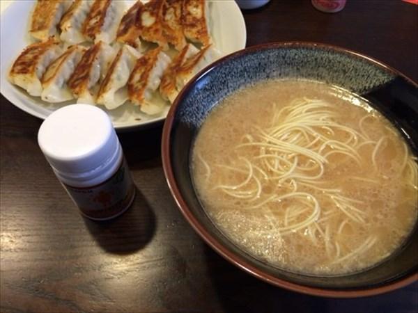八ちゃんラーメンと餃子