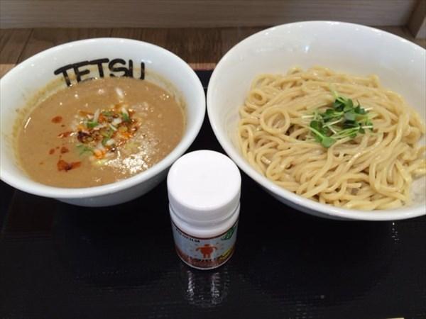 つけめんTETSUの坦々つけ麺とメタバリア