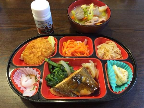魚とコロッケと豚汁とメタバリアスリム