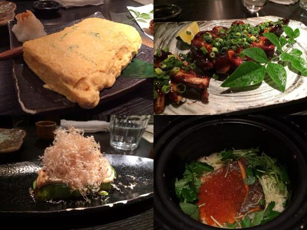 卵焼きやイクラと鮭の土鍋ご飯など